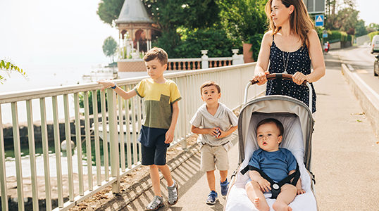 After His Affair: One Mom's Journey with her Kids